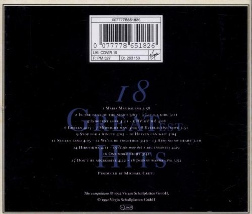 18-Greatest-Hits-B000005RSV-2