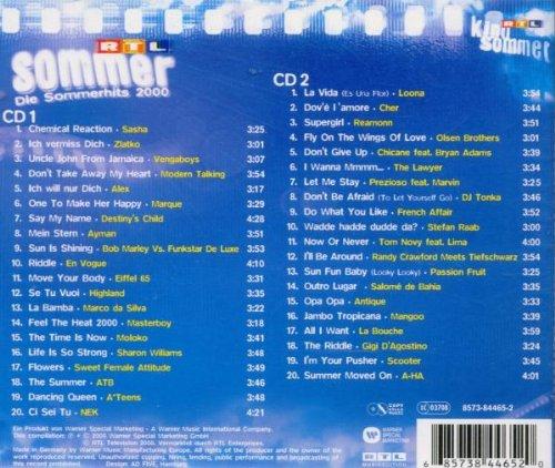 Rtl-Sommer-die-Sommerhits-2000-B00004W51D-2